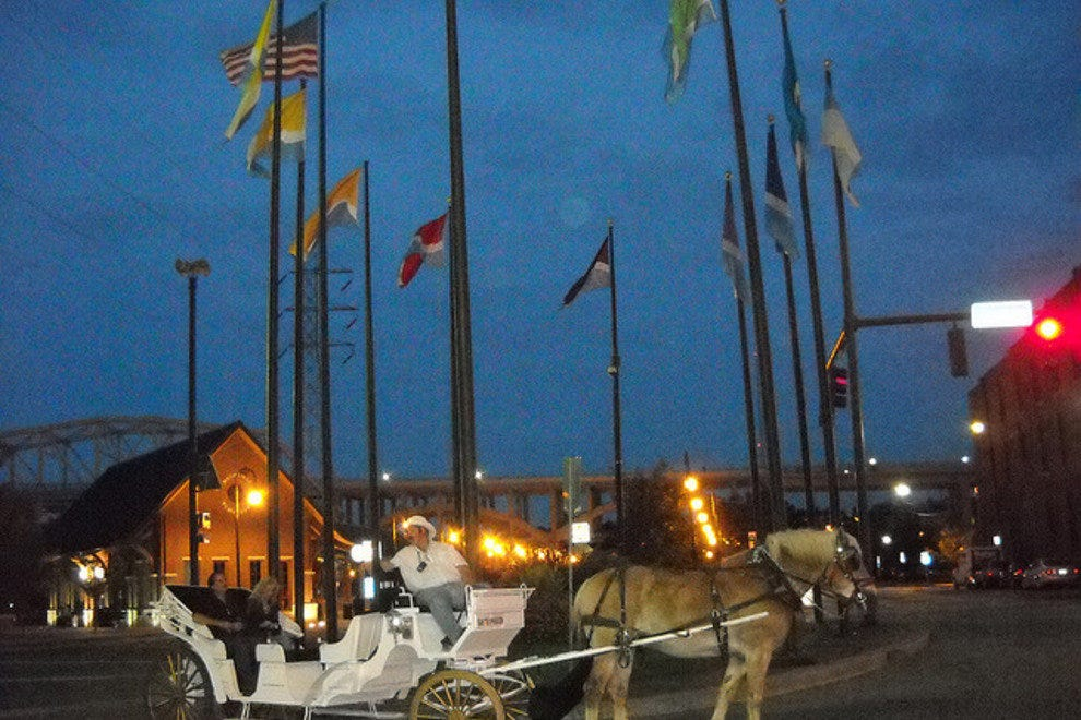 Carriage Tour in Downtown Nashville