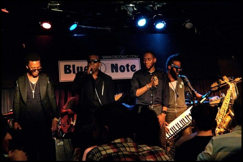 The Blue Note Jazz Cafe
