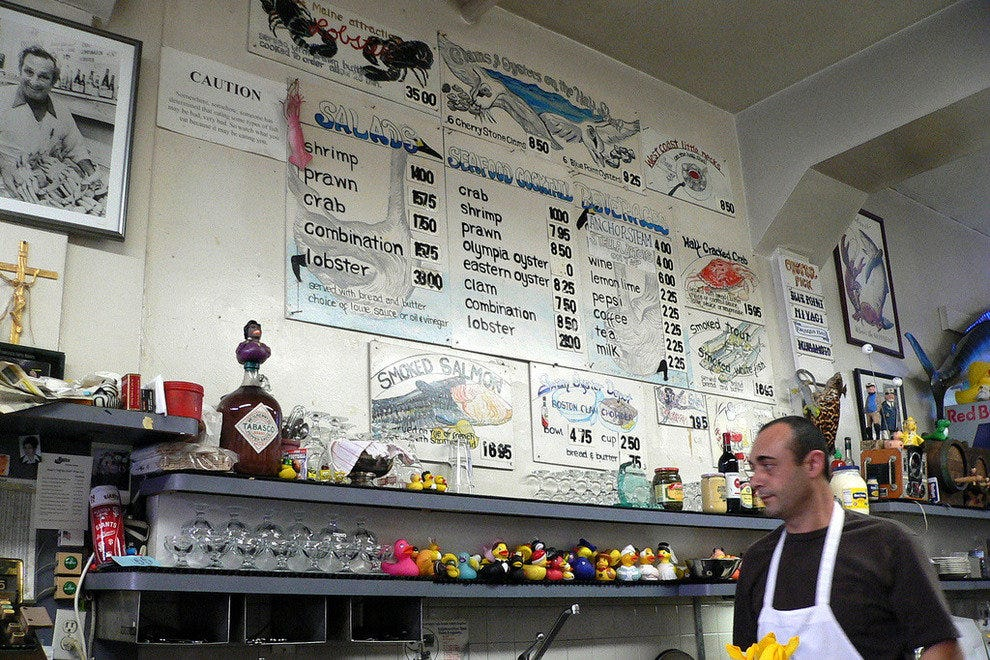 Swan Oyster Depot serves up seafood chowder, stew, and fresh fish daily