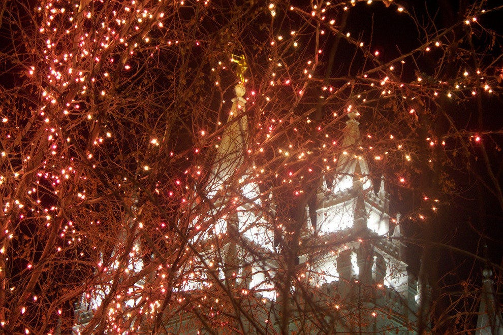 A Tiny Fraction of The Lights on Temple Square