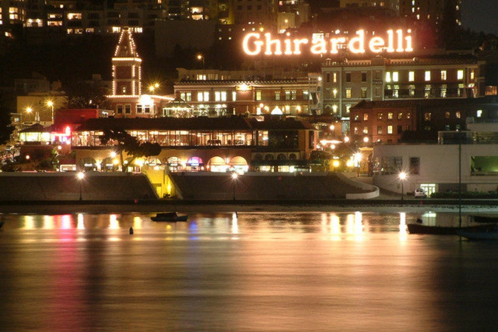 Ghiradelli is prominent San Francisco icon
