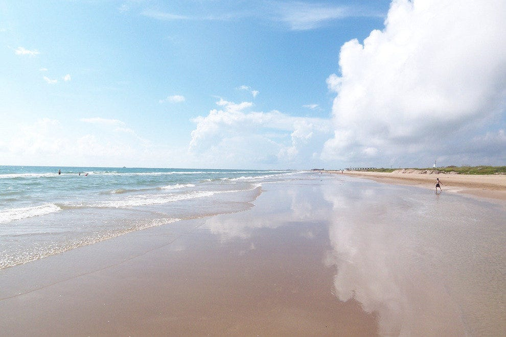 South Padre Island, along Texas' Tranquil Gulf Coast