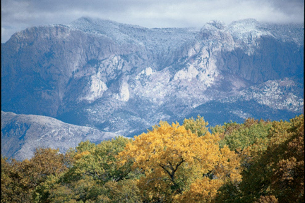 The Rio Grande Bosque and Sandia Mountains offer miles of free hiking and priceless views.