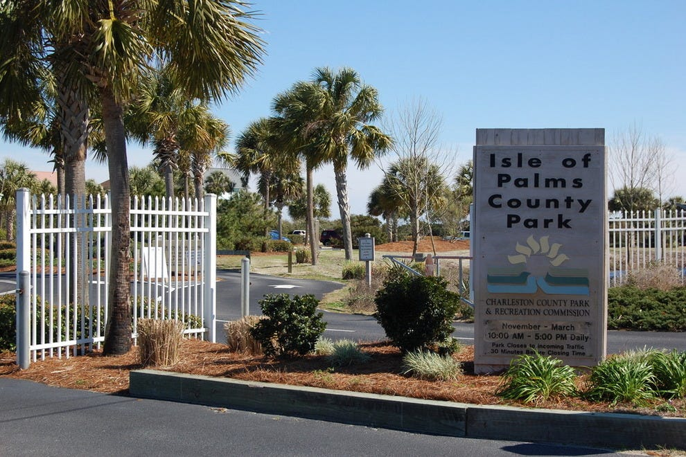 Isle Park Isle of Palms County Park