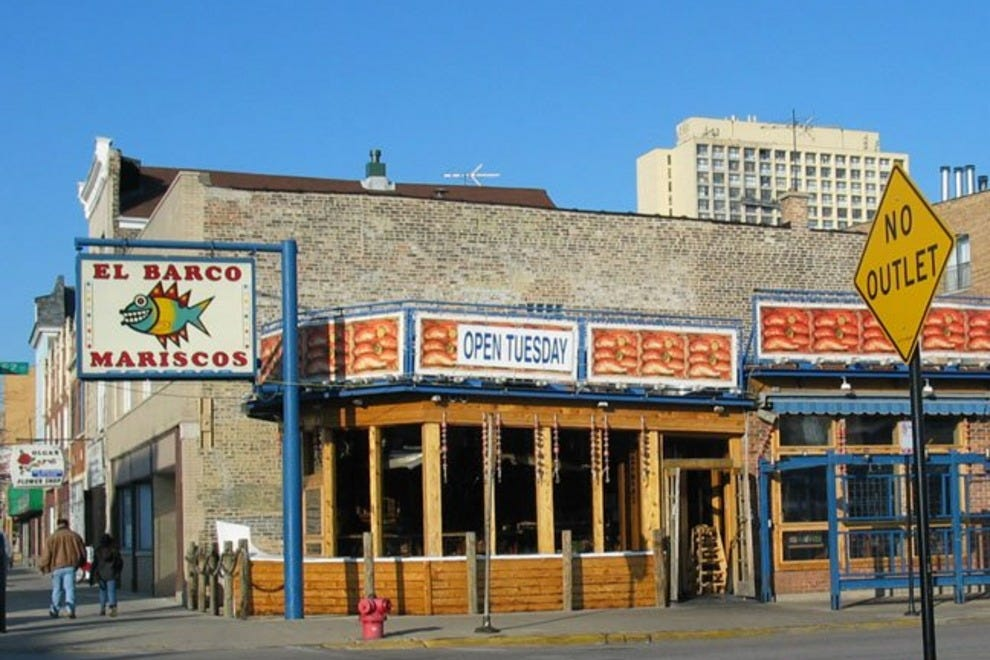 Mexican Seafood Restaurants Chicago