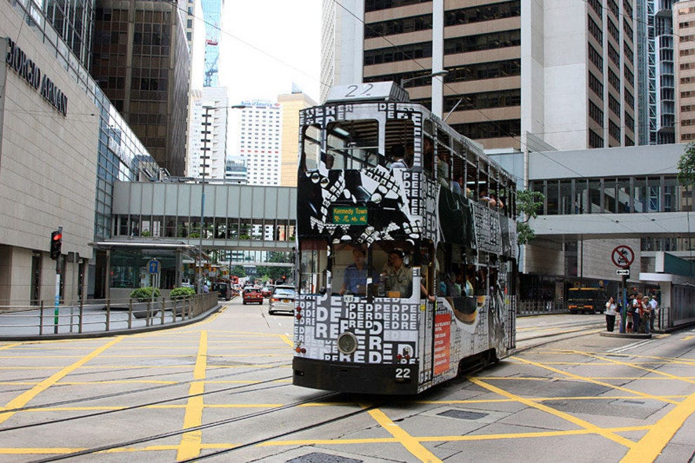 Hong Kong Island Trams