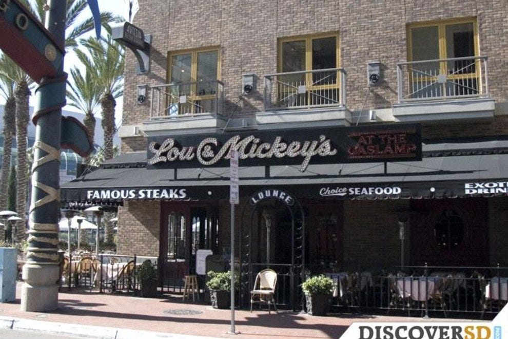 Lou & Mickey's at the Gaslamp