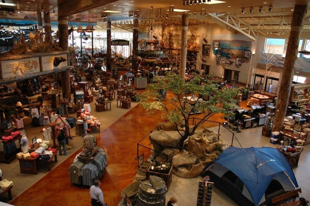 Bass Pro Shop's Outdoor World