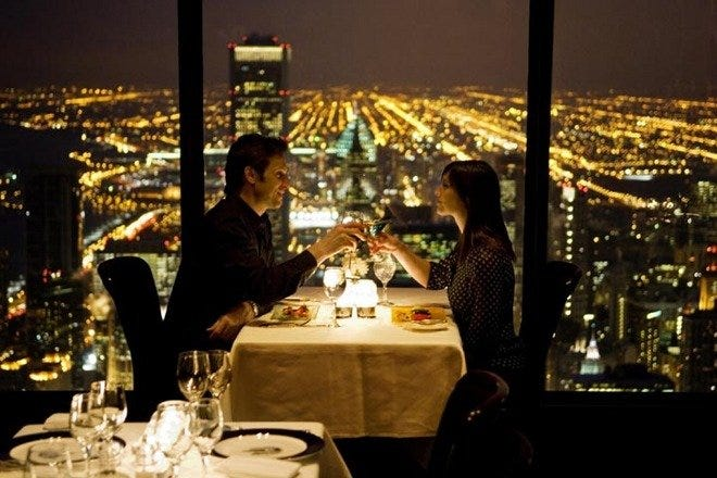 Romantic Dining in Chicago