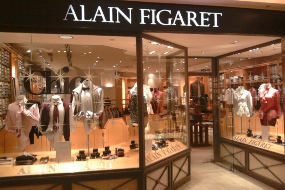 Alain Figaret: Hong Kong Shopping Review