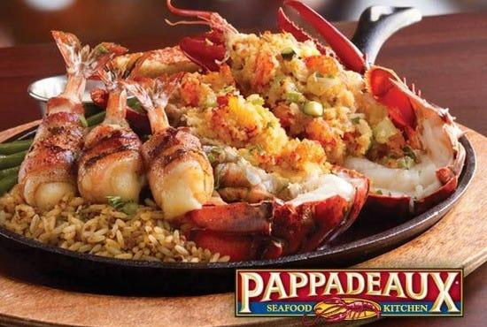 Pappadeaux Seafood Kitchen Alabama Menu