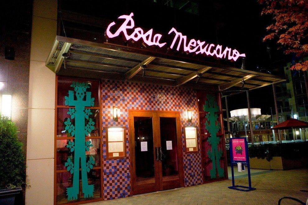 Mexican Restaurants Dc Near Verizon Center