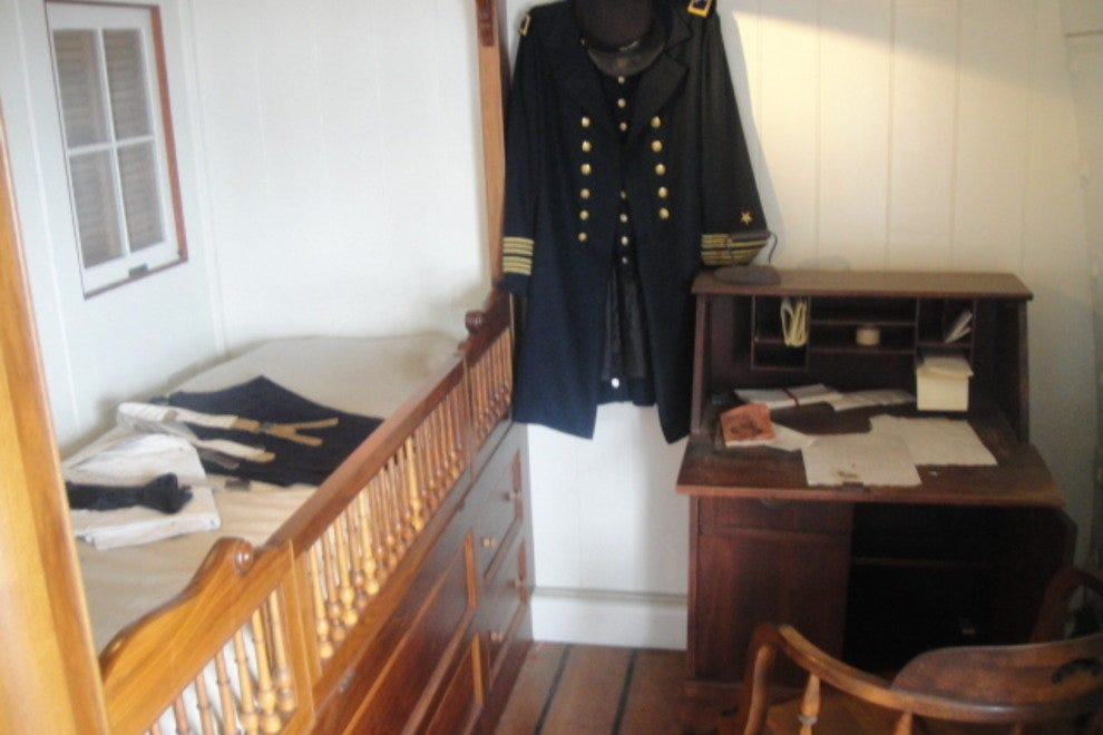 The Captain's Stateroom