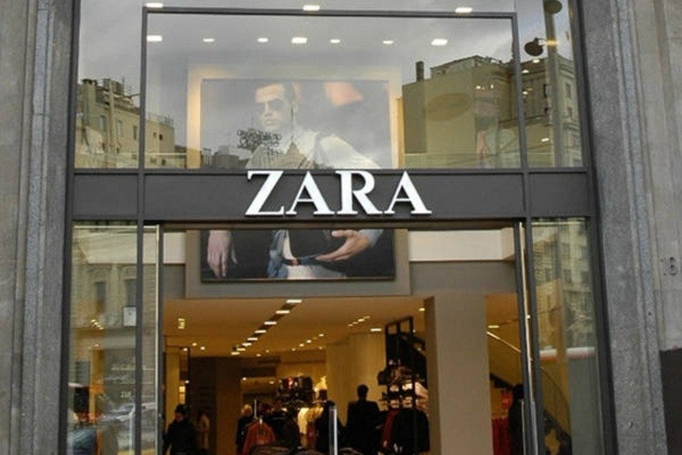 Zara is to Spain what Starbucks is to the United States  you can find one  on every corner 326d5a03e11