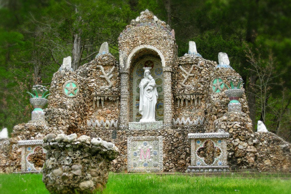 Black Madonna Shrine and Grottos