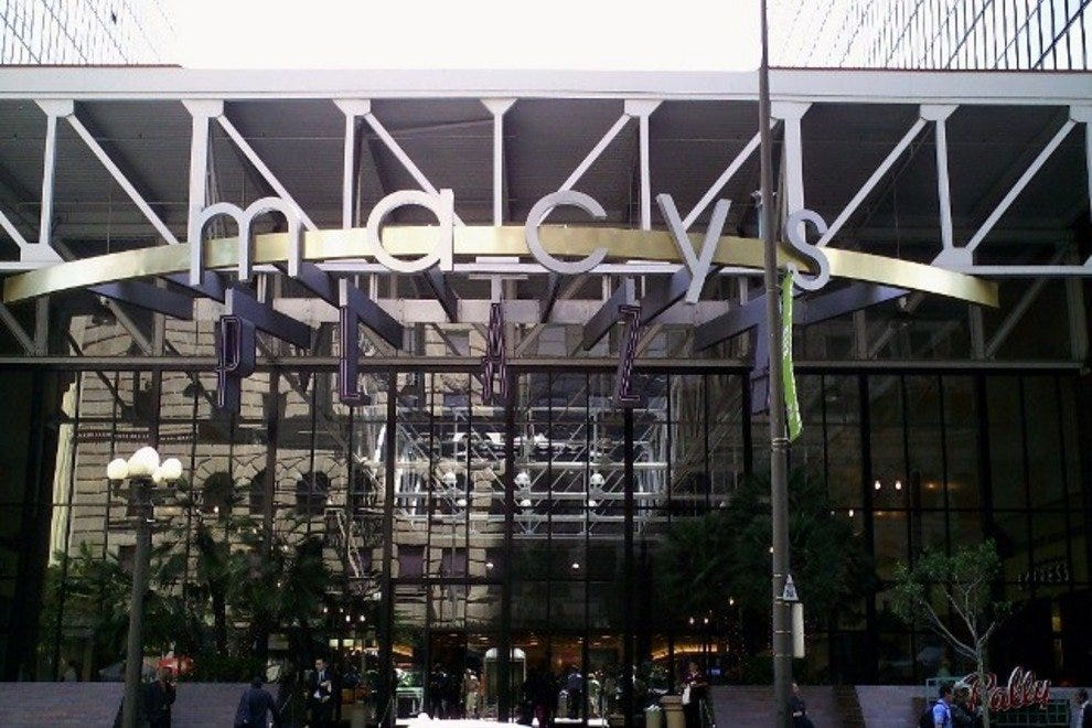 Macy's Plaza at the MCI Center