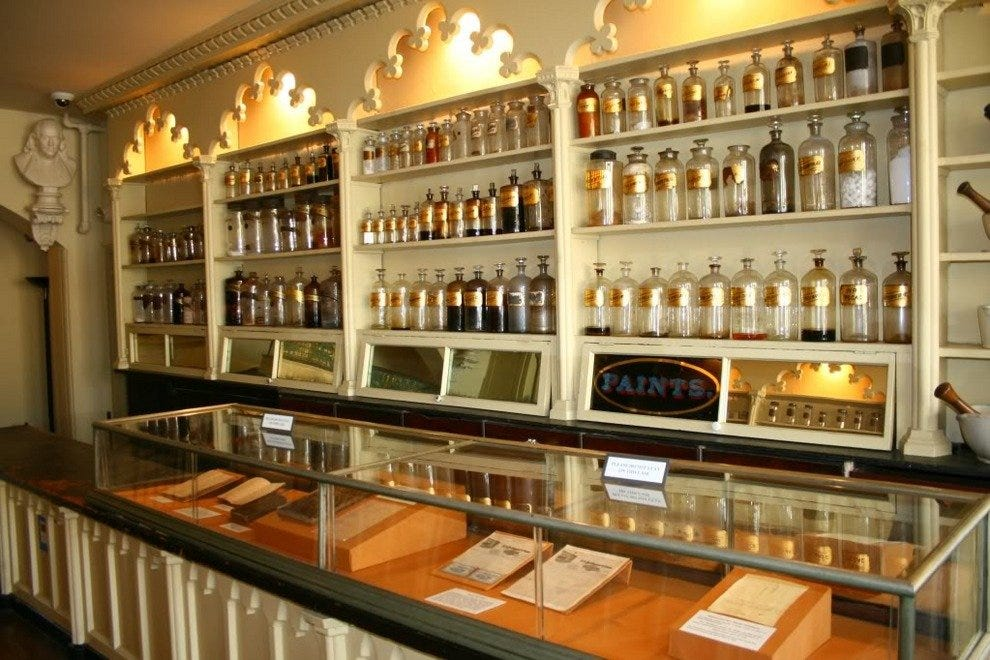 Stabler – Leadbeater Apothecary Shop