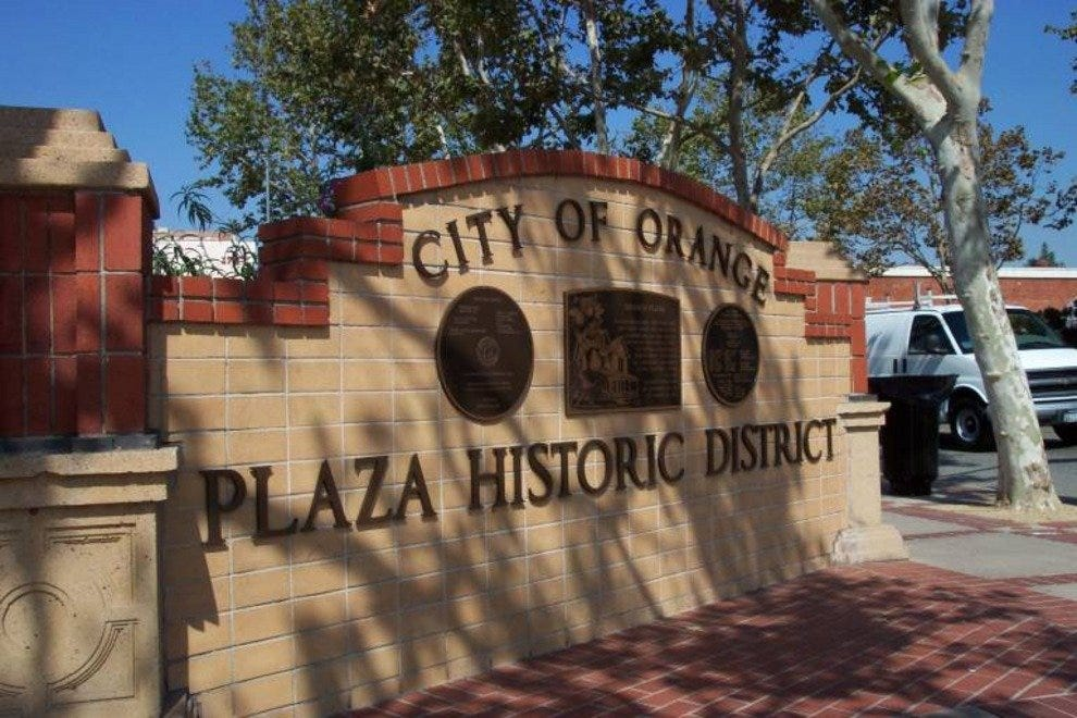 Old Towne Orange Historical Plaza District