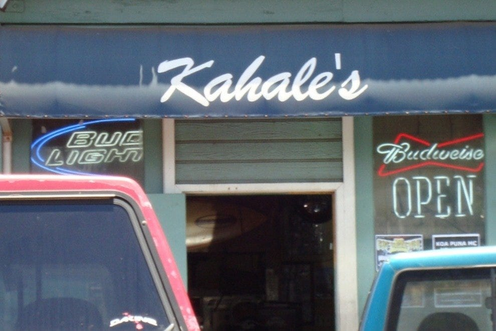Kahale's Maui's Local Dive Bar