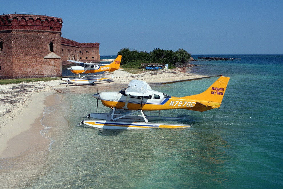 Dry Tortugas' Fort Jefferson near Key West Florida