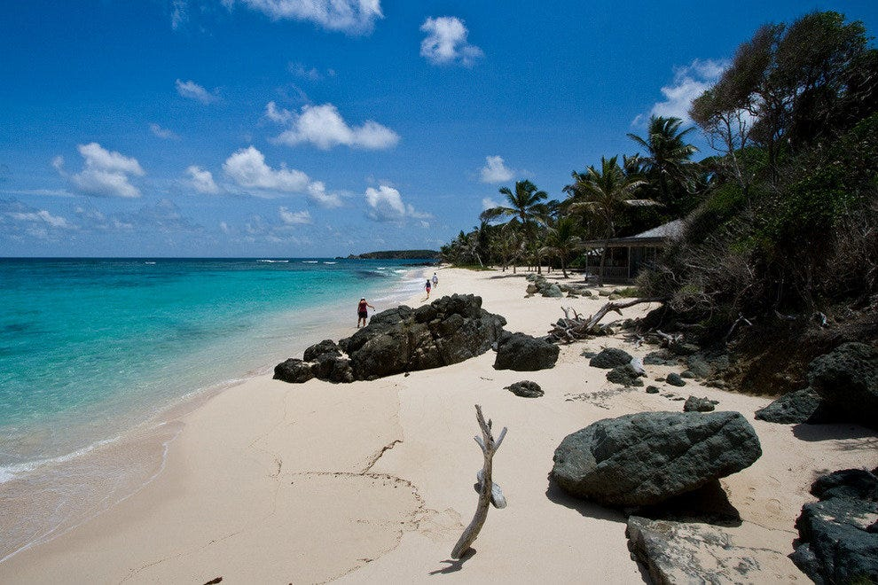 Jetsetters love Mustique in the southern Caribbean