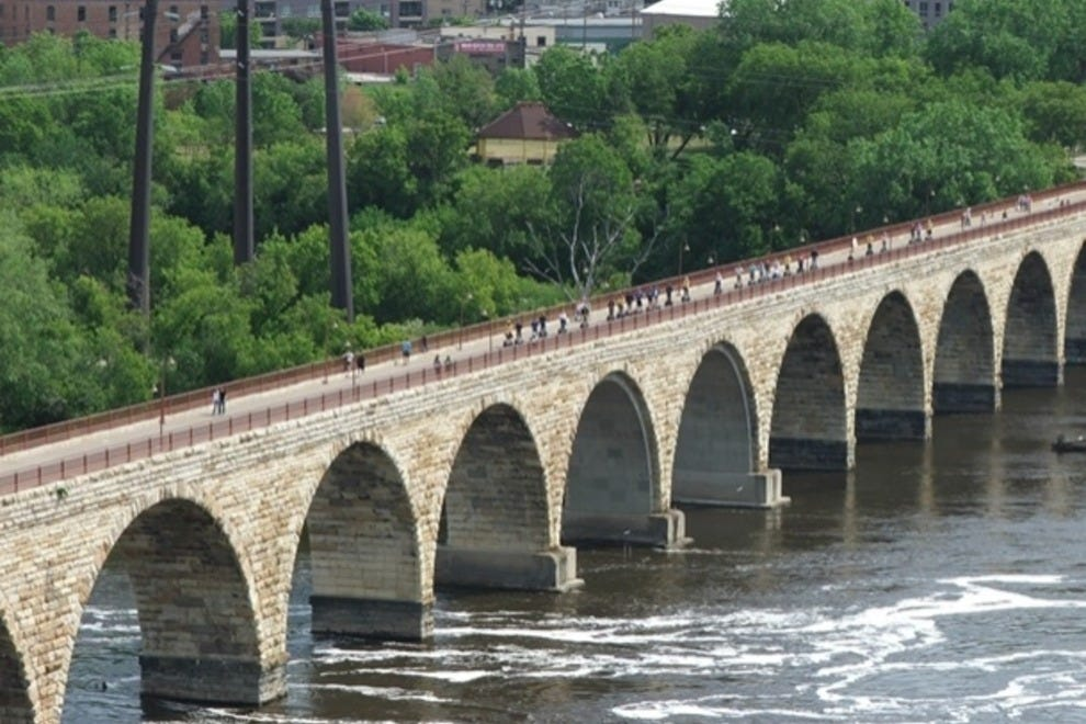 Stone Arch Bridge at St. Anthony's Falls