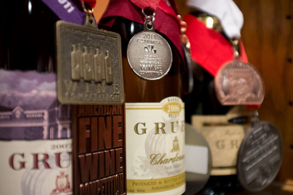 The Gruet Winery produces award-winning wine in New Mexico