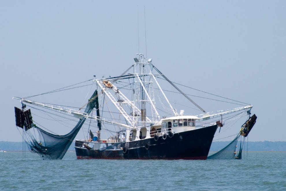 South Carolina Shrimp Boat