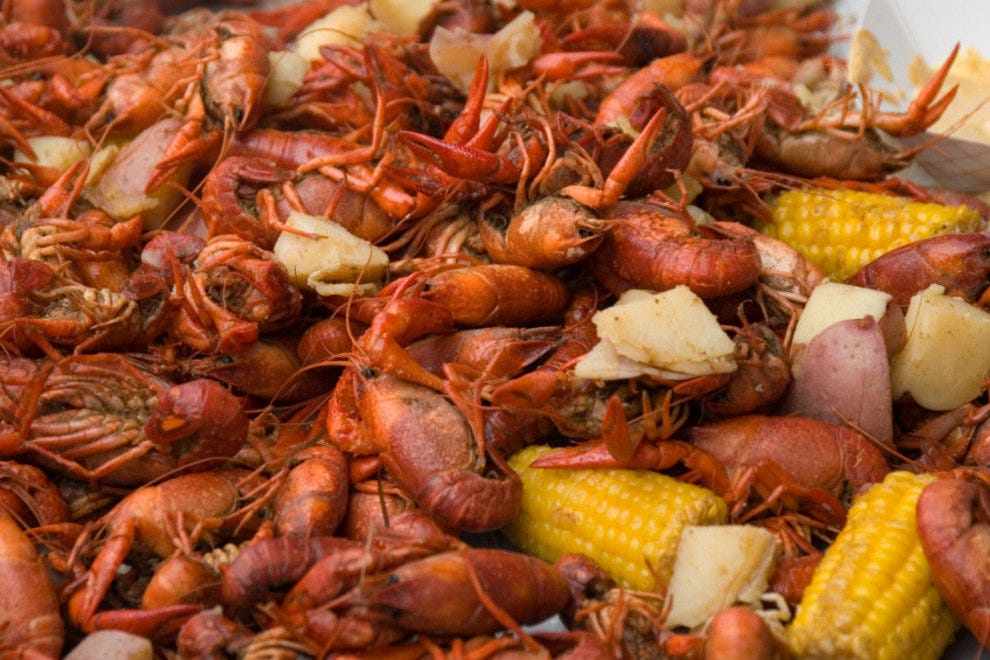 Louisiana Cajun Crawfish