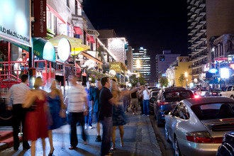 "Crescent Street is Montreal's ""Party Central"""