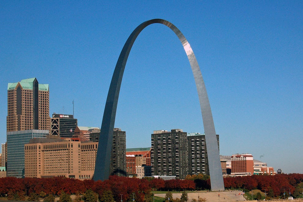 Take the children to see the St. Louis Arch and they won't forget it