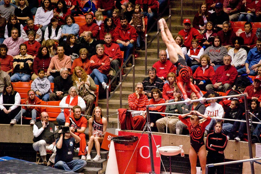 University of Utah Women's Gymnastics