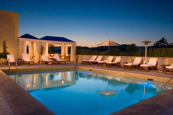 Los Angeles Luxury Hotels In Los Angeles Ca Luxury Hotel Reviews