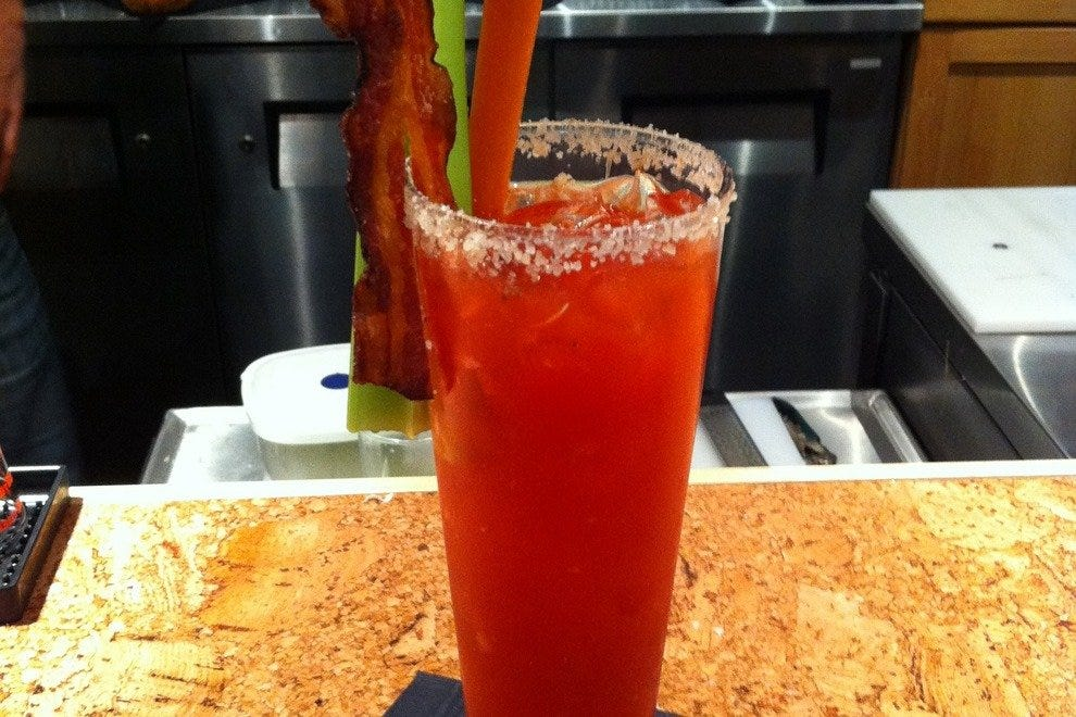 The glorious Maple Bacon Caesar