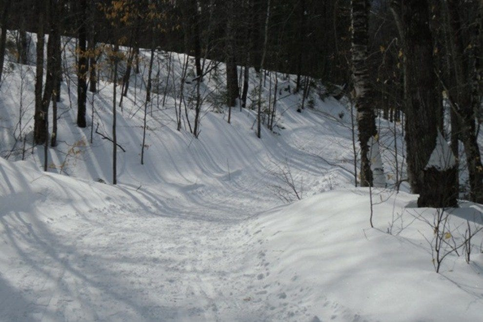 Maine Huts and Trails Skate Skiing
