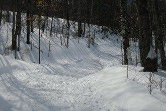 缅因州的小屋和滑雪道