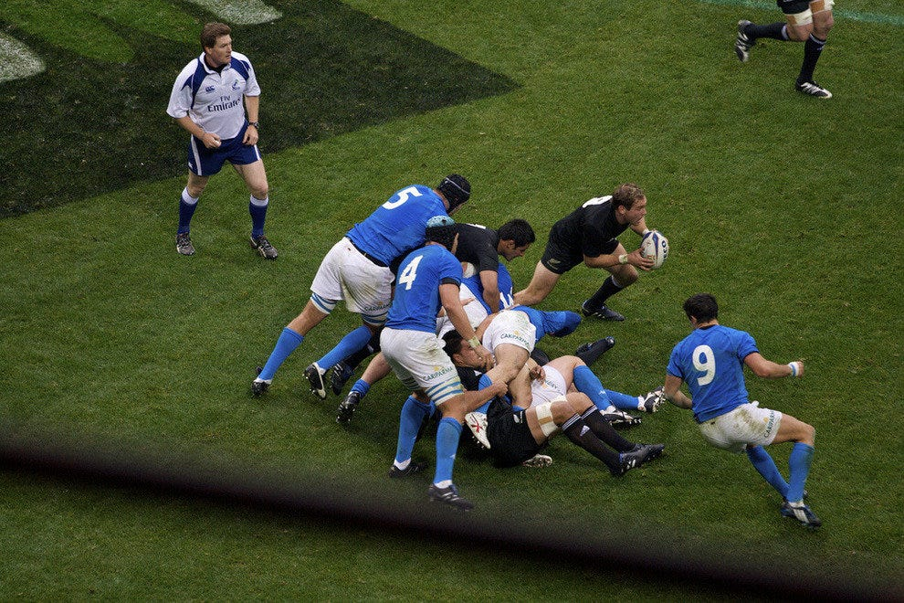 Italian Rugby Team Plays for the Title