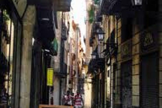 Downtown in Barcelona