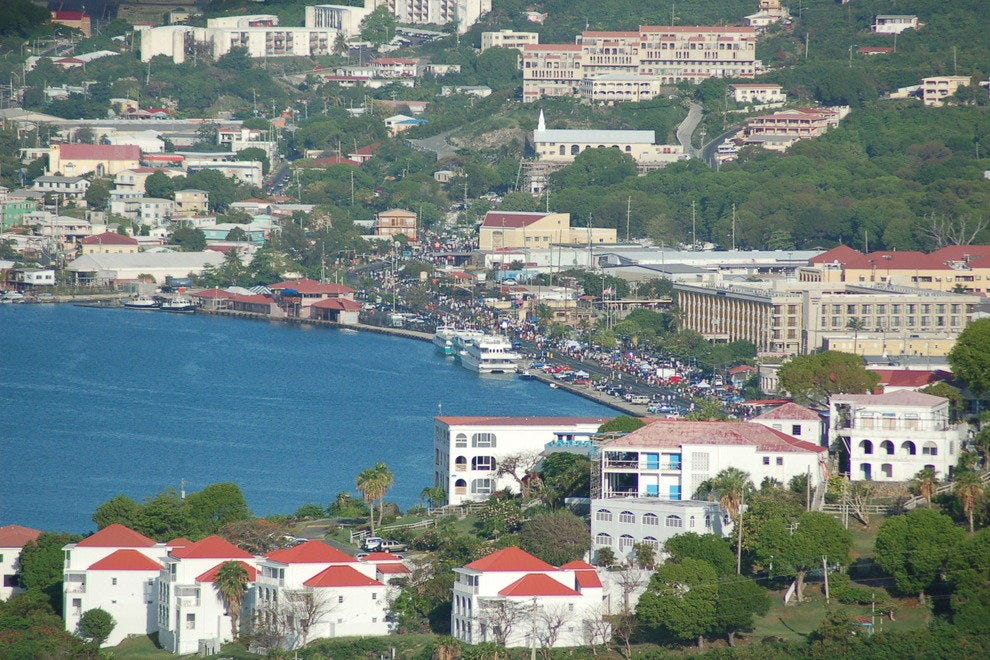 Charlotte Amalie waterfront, St., Thomas