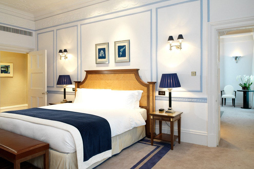 Claridge's Hotels in London offers luxurious service and classic interiors