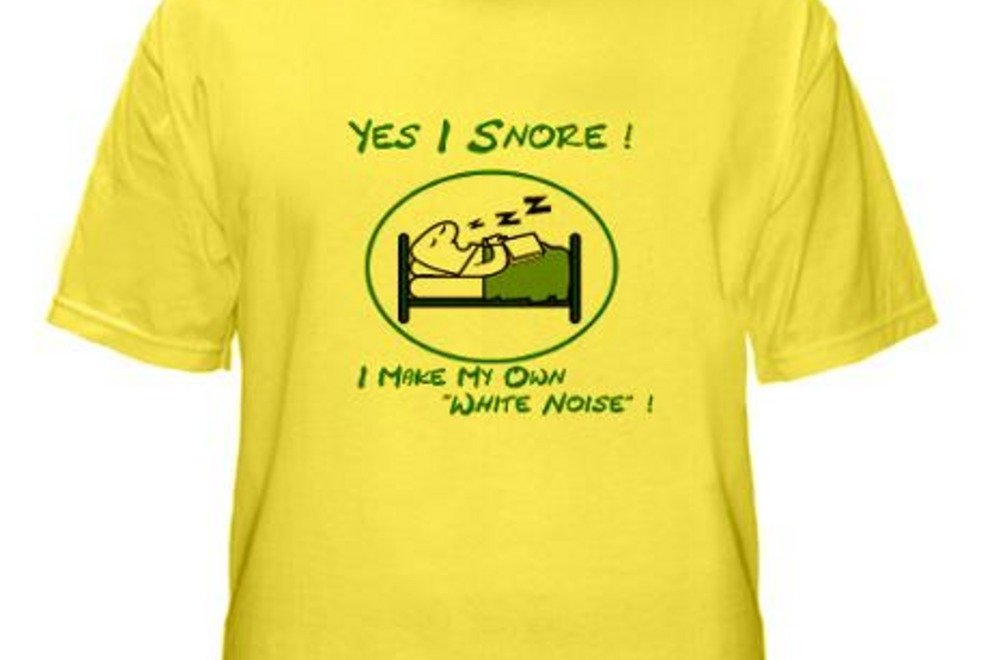YES I SNORE