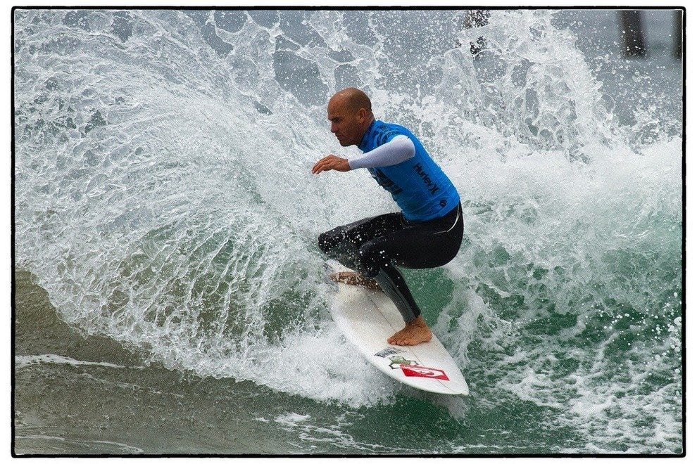 Kelly Slater at U.S.Open of Surfing,Huntington Beach