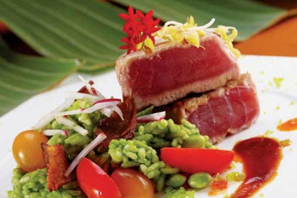 Delicious cuisine is easy to find at one of the nine restaurants affiliated with The Breakers Palm Beach