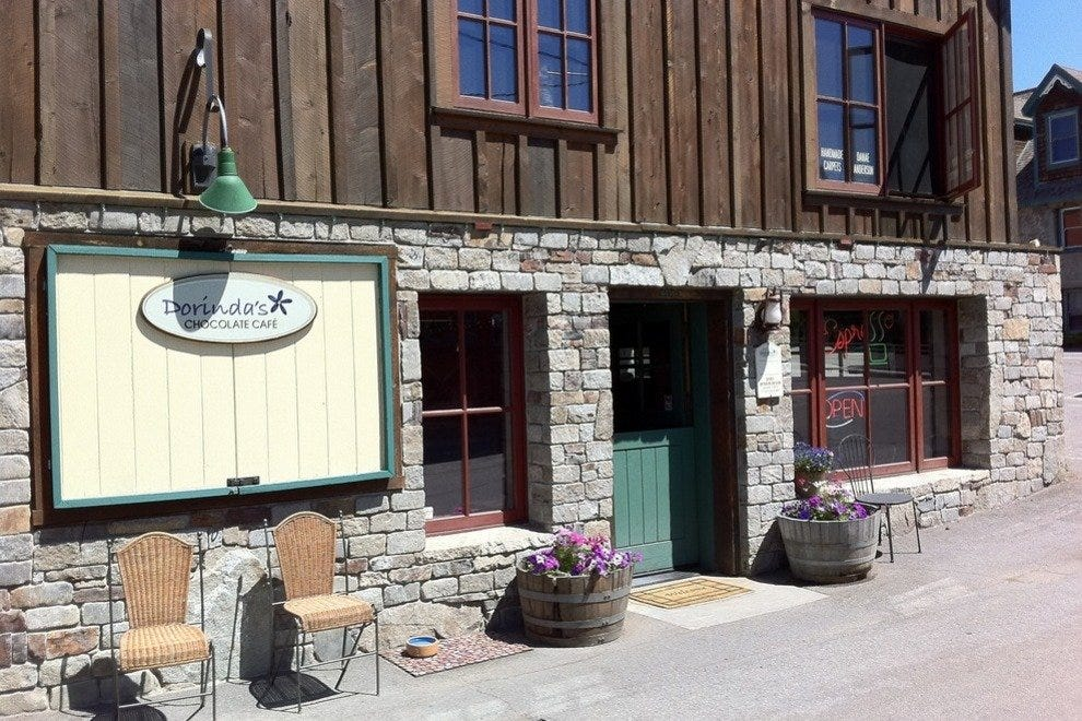 Dorinda's chocolate shop in Truckee