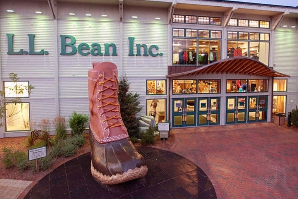 L.L. Bean's flagship store in Freeport.