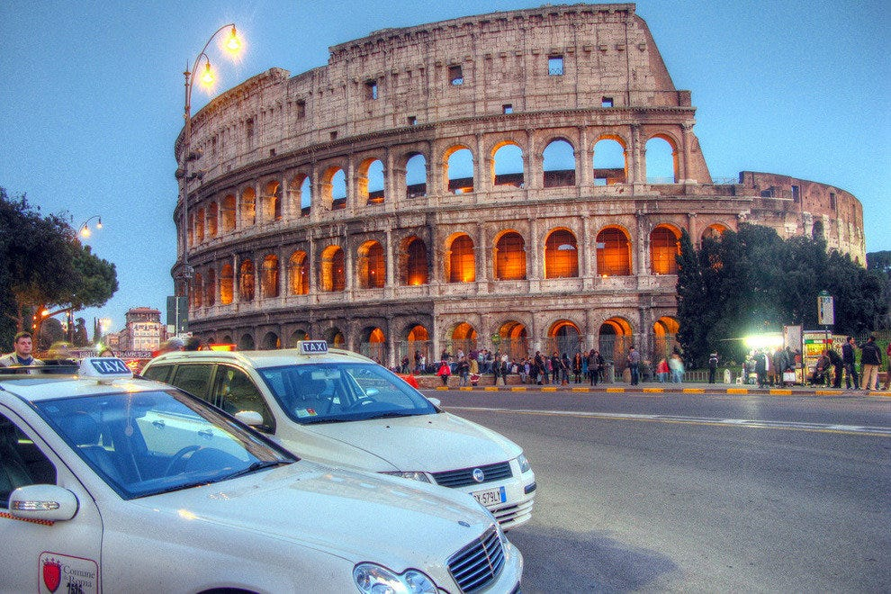 Cabbies in Rome go high-tech