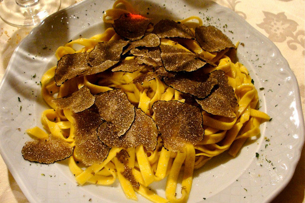 Pasta with Tartufo