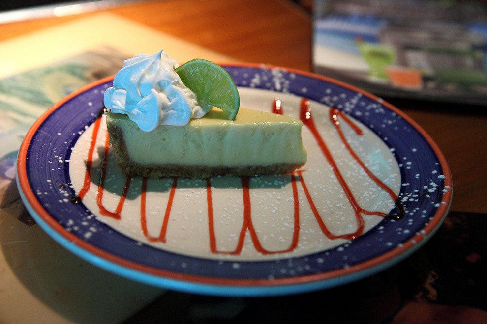 Tropical Key Lime Pie