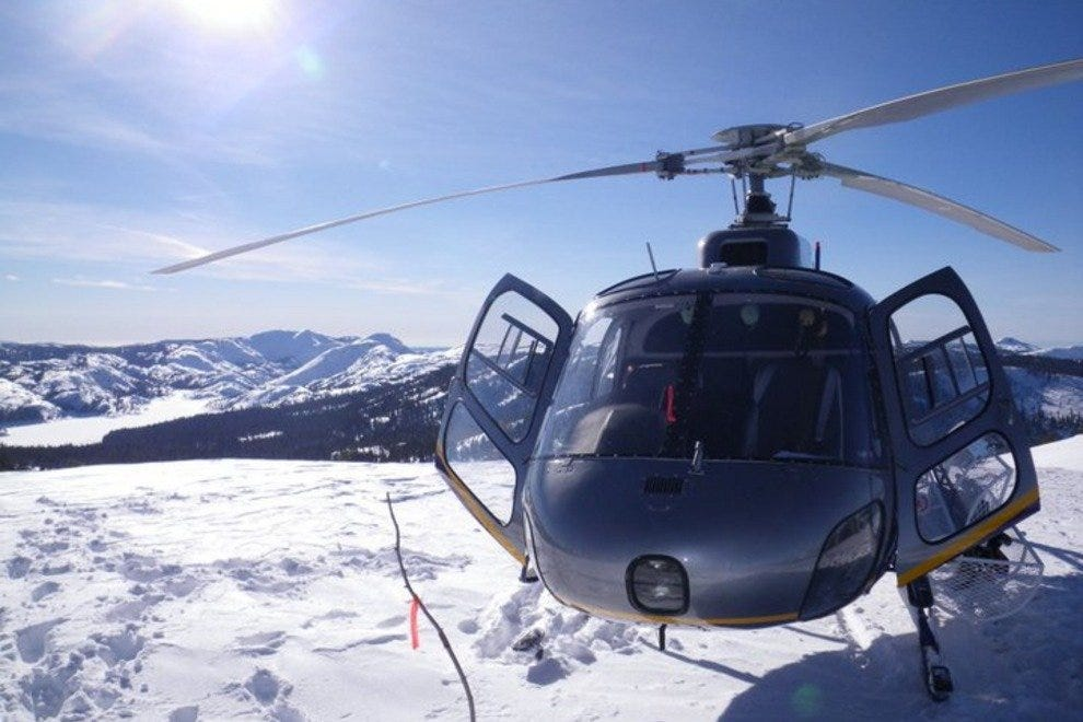 Pacific Crest Heli-ski Helicopter