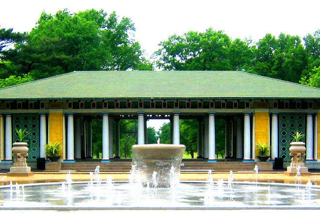 Muckerman Fountain and Pool Pavilion
